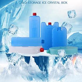 Combo 5 viên Đá khô CO2 DK200 giữ lạnh sữa dạng gel cho quạt điều hòa, du lịch, phượt