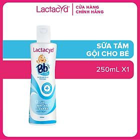 Sữa Tắm Gội Trẻ Em Lactacyd Bb - Giảm Rôm Sảy & Hăm Kẽ 250ml