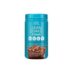 Bột Giảm Cân và Cung Cấp Protein GNC Lean Shake Classic Swiss Chocolate