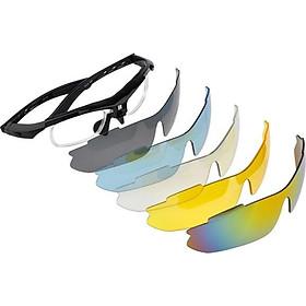 Bộ kính phân cực 5in1 (dành cho mọi người kể cả người cận thị, viễn thị...) - Tặng kèm móc khóa vặn kính