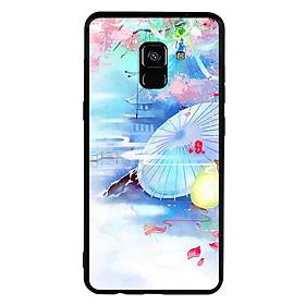 Ốp lưng viền TPU cho điện thoại Samsung Galaxy A8 2018 - Diên Hi Công Lược Mẫu 7