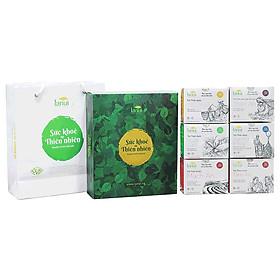 Bộ quà Tết 2019 120 Gói trà LANUI cao cấp cho sức khỏe