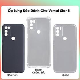 Ốp lưng Dẻo TPU Chống Sốc Dành Cho Vsmart Star 5- Hàng Chính Hãng
