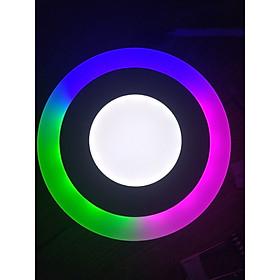 Combo 5 đèn led ốp trần panel 3 chế độ 3 màu GBP