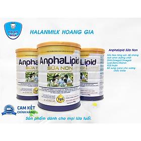 Anphalipid Sữa Non Halan Milk 900gr - Tăng sức đề kháng, chống loãng xương, giảm mệt mỏi