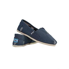 Giày Vải Nữ TS11 - Xanh