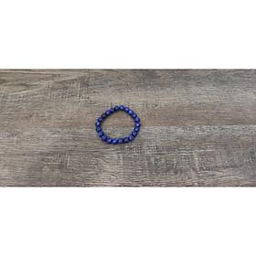 Vòng tay chuỗi hạt đá cẩm thạch xanh nước biển 8 ly (Đá Myanmar), vòng tay phong thủy đá tự nhiên