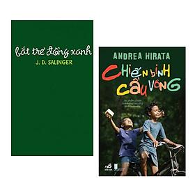 Combo sách tiểu thuyết hay : Bắt trẻ đồng xanh + Chiến binh cầu vồng - Tặng kèm Postcard GREEN LIFE