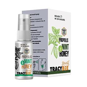 TracyBee - Keo ong BRAZIL dạng xịt 30ml hỗ trợ ngăn ngừa ho, viêm họng