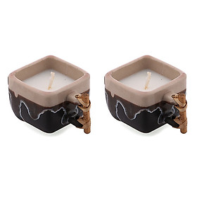Bộ 2 nến thơm ly trà sứ Miss Candle FtraMart