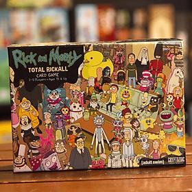 Trò Chơi Boardgame Gia Đình Rick and Morty: Total Rickall