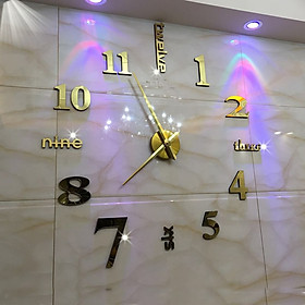 Đồng hồ treo tường pin