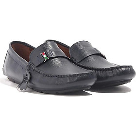 Giày Lười Nam Da bò thật, giày da nam cao cấp Banuli C4ML3T0