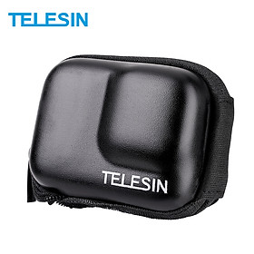 TELESIN Protective Bag Storage Case Zipper Carry Bag Semi-open IP54 Waterproof Replacement for GoPro Hero 9 Black Action