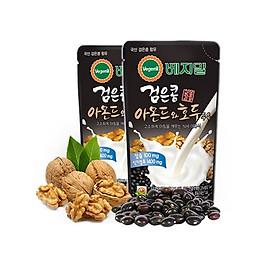 Sữa đậu đen óc chó hạnh nhân Vegemil Hàn Quốc xách 20 túi (190ml/Túi)