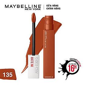 Son Kem Lì Maybelline Super Stay Matte Ink 5ml - Màu 135 Globetrotter-1