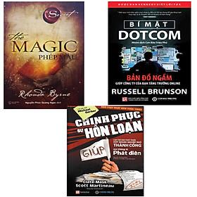 Combo 3 cuốn sách kinh tế hay , The magic Phép màu + Bí mật Dotcom + Chinh phục sự hồn loạn