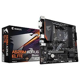 Bo mạch chủ Mainboard Gigabytye A520M AORUS ELITE AMD Socket AM4 – Hàng Chính Hãng