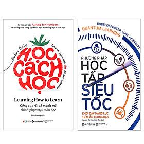 Combo Bí Quyết Để Học Nhanh Và Hiệu Quả : Học Cách Học - Learning How To Learn + Phương Pháp Học Tập Siêu Tốc