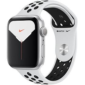 Đồng Hồ Thông Minh Apple Watch Nike+ Series 5 GPS Only Aluminum Case With Nike Sport Band (Viền Nhôm & Dây Nike) - Hàng Chính Hãng VN/A