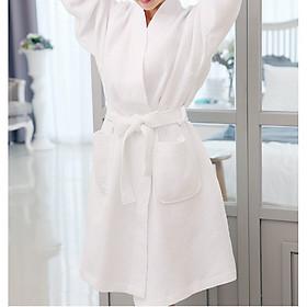 Áo choàng tắm HomenHouse Waffle chất liệu cotton