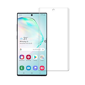 Miếng Dán PPF Mặt Trước cho Samsung Galaxy Note 10 Plus – Dẻo full màn hình – Hàng Chính Hãng