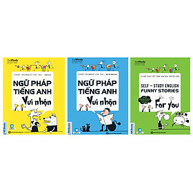 Combo 3 Cuốn: Ngữ Pháp Tiếng Anh Vui Nhộn (Basic + Beginners) Và Tự Học Giao Tiếp Tiếng Anh Qua Truyện Cười (Tặng Flashcard 360 Động Từ Bất Quy Tắc Trong Tiếng Anh Từ A - Z)