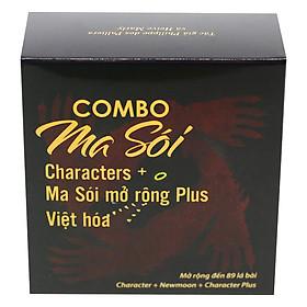 Bộ Bài Ma Sói Characters Việt Hóa Đầy Đủ (Kèm Bản Mở Rộng Characters Plus)