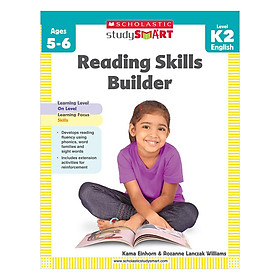 Scholastic Study Smart: Reading Skills Builder Level K2 (Ages 5 +)