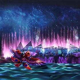 Vé Nhạc Nước Singapore Wings Of Time - Suất 20h40
