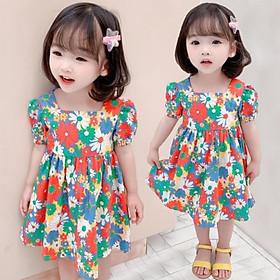 VT24Size100-140 (9-30kg)Đầm hoa cho bé gáiCHUẨN QUẢNG CHÂU CAO CẤP
