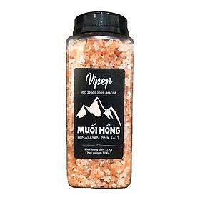 Muối hồng Himalaya Vipep hạt thô 500g