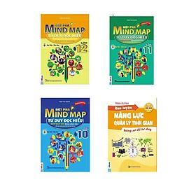 combo 3 cuốn: Đột Phá Mindmap - Tư Duy Đọc Hiểu Môn Ngữ Văn Bằng Hình Ảnh Lớp 10, 11, 12 (tặng sách Rèn luyện năng lực quản lí thời gian)
