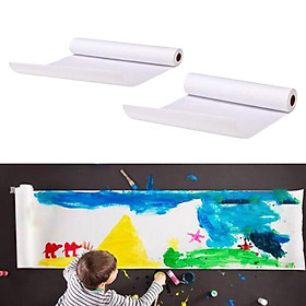 2Set 5/10m Drawing Paper Kids Sketching Easel Paper Roll Art Painting Supplies