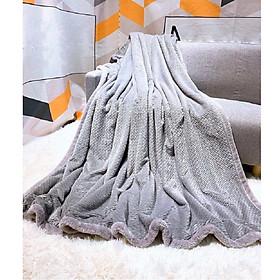 Chăn lông Thỏ lông nỉ nhung tuyết cao cấp CO lông thỏ mềm bóng mịn chăn giữ nhiệt tốt hè thu đông