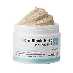 Bùn khoáng làm sạch mụn đầu đen và bã nhờn Meditime Neo Pore Black Head One Shot Pact