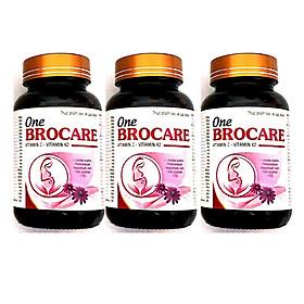 Ba hộp thực phẩm bổ sung dinh dưỡng One Brocare dành cho mẹ