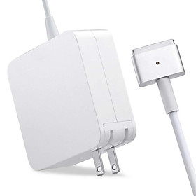 AC 45W Magsafe2 T-Tip Power Adapter Charger for MacBook Air 11/13 inch (MacBook Air Released After Mid 2012)