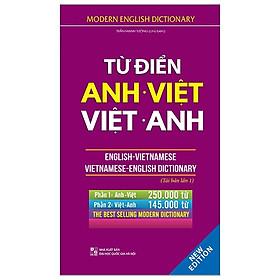 Từ Điển Anh Việt - Việt Anh (Bìa Cứng - Tái Bản)