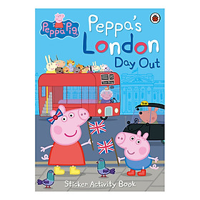 Peppa's London Day Out Sticker Activity Book
