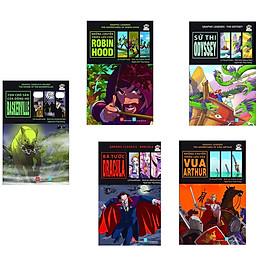 Sách hay cho bé: Combo 5 quyển sách Graphic