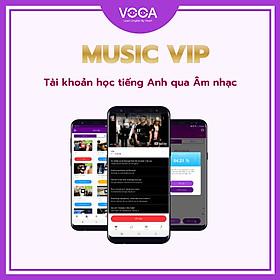 MUSIC VIP: Tài Khoản Học Tiếng Anh Qua Âm Nhạc - Giúp bạn cải thiện kỹ năng nghe, nhận diện âm và vốn từ vựng từ với hơn 700+ bài hát tiếng Anh hay nhất - Chia theo cấp độ từ cơ bản đến nâng cao