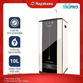 Máy Lọc Nước RO Đa Năng 6 Cấp Lọc Nagakawa NAG0511 - Hàng Chính Hãng