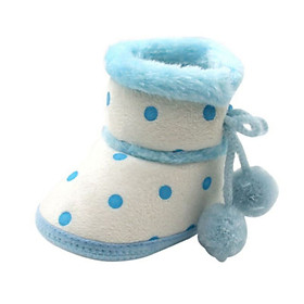 Hot High Quality Baby Non-slip Boots Winter Boots Soft Bottom Baby Moccasin Baby Warm Boots Or Baby Girls LM58 New