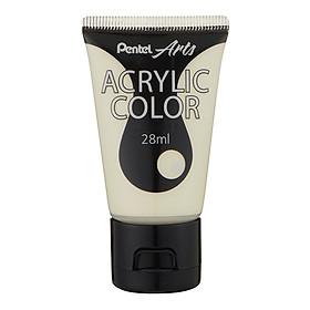 Tuýp Màu Vẽ Acrylic Pentel 28ml WA2-T30 - Ivory White