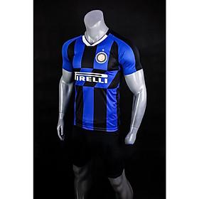 Bộ Quần Áo Bóng Đá Clb Inter Milan Trắng - Đồ Đá Banh Mới Nhất 19-20