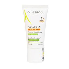 Kem dưỡng ẩm, làm dịu và giảm ngứa cho da rất khô, viêm da cơ địa Exomega Control A-Derma 50ml