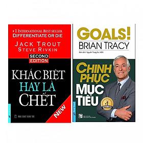 Combo Khác Biệt Hay Là Chết + Chinh Phục Mục Tiêu ( 2 cuốn )