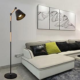 Đèn Cây Đứng Cao Cấp - Mẫu Thiết Kế Mới Nhất - Đơn Giản, Hiện Đại - Tặng Kèm 1 Bóng Đèn LED