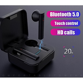 Tai Nghe Bluetooth Bluetoshita True Wireless AirBuds Tai Nghe Không Dây Âm Thanh Vòm 7.1 Super Bass BE92J Hàng Chính Hãng